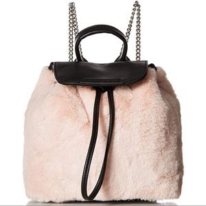 Kendall + Kylie blush pink backpack